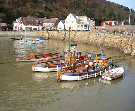 The Quay, Minehead, South West England Stock Photo