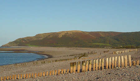 Porlock shingle beach, South West England Stock Photo - 9937425