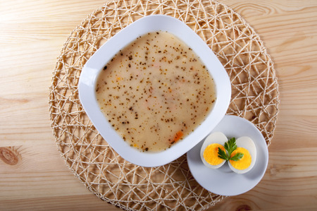 sou: traditional polish soup