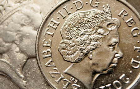 gb pound: Pound sterling coins Editorial