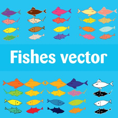fishes: fishes vector