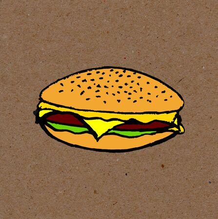 food: vegan food Stock Photo