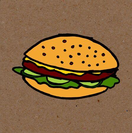 slow food: vegan food Stock Photo