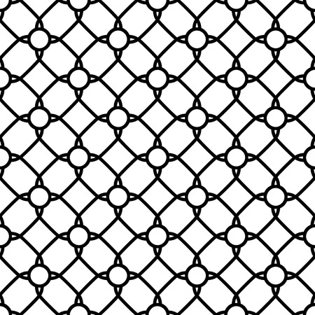 Geometric pattern with oriental elements  Seamless background  Abstract texture Vector