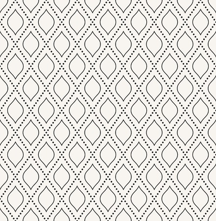 Geometric vector pattern  Seamless abstract texture for wallpapers and background