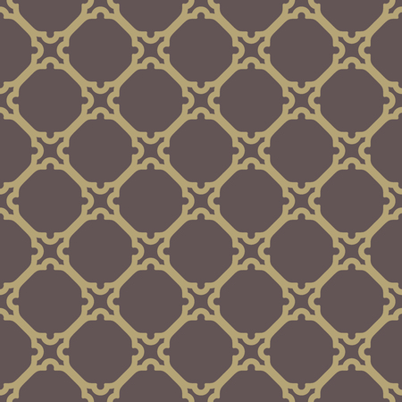 Geometric pattern with oriental elements.  Illustration