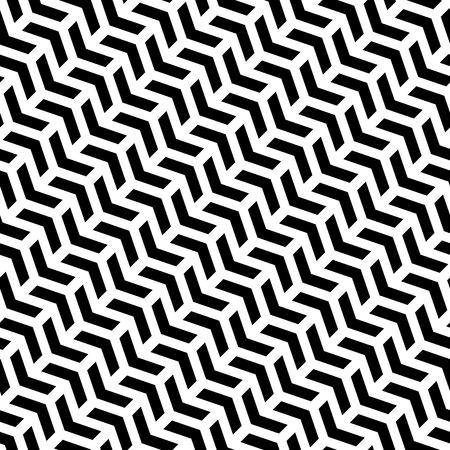 Geometric repeating vector pattern. Seamless abstract modern texture for wallpapers and background Vector