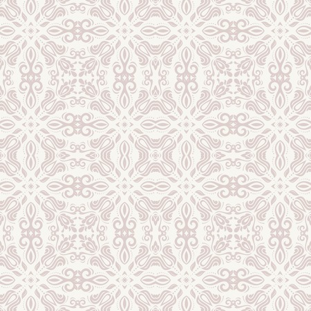 花のベクトル ダマスク、唐草花の要素と東洋のパターン。シームレスな抽象的な壁紙と背景