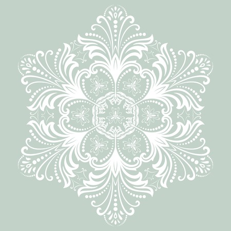 arabian background: Oriental  pattern with damask, arabesque and floral elements. Abstract background