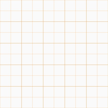 Geometric vector pattern. Seamless abstract texture for wallpapers and background. Orange and white colors Vector