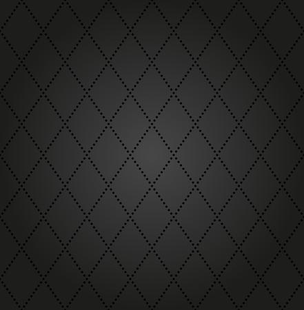 Géométrique vecteur moderne seamless pattern. Répétition de texture avec des éléments en pointillés