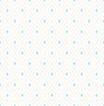 Geometric fine abstract vector pattern. Seamless modern texture for wallpapers and background Illustration