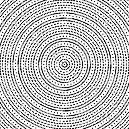 Geometric modern  pattern with Circles . Repeating tiles with dotted elements photo