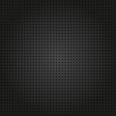 Geometric modern vector seamless pattern. Repeating texture with black dotted elements Vector