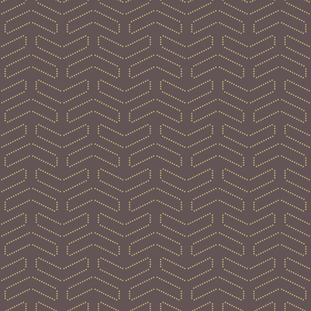 Geometric vector pattern. Seamless abstract texture for wallpapers and background with golden dotted elements Vector