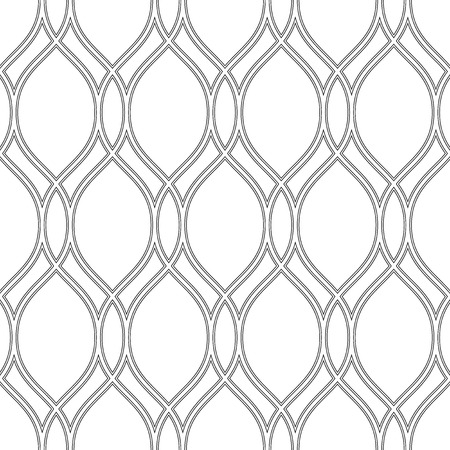 Geometric pattern. Seamless vector texture for backgrounds. Black and white colors