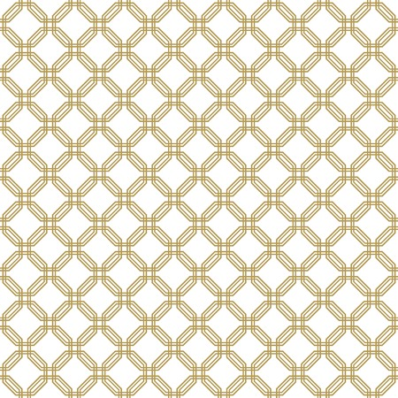 Geometric fine abstract vector golden pattern. Seamless modern texture for wallpapers and backgrounds Vector