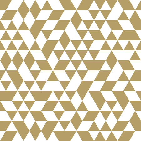 Geometric  pattern with triangular elements. Seamless abstract ornament for wallpapers and background photo