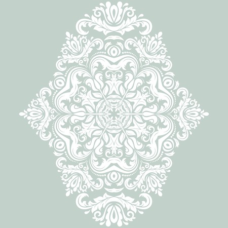 Oriental  pattern with damask, arabesque and floral elements. Abstract background