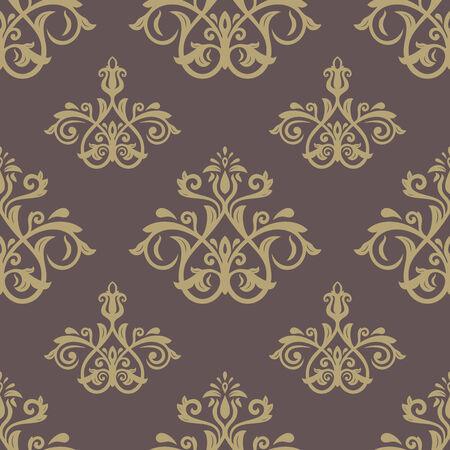 damask wallpaper: Damask seamless floral pattern.