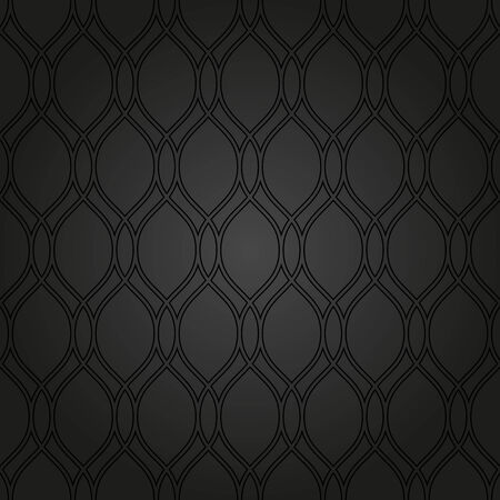 Geometric pattern. Seamless vector dark background. Abstract texture for wallpapers Vector