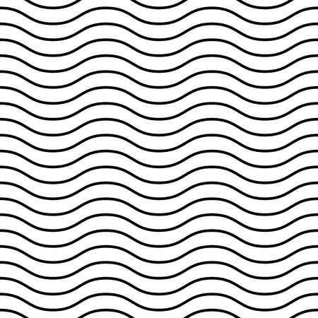 Geometric pattern. Seamless vector background. Abstract texture for wallpapers. Black and white colors  イラスト・ベクター素材