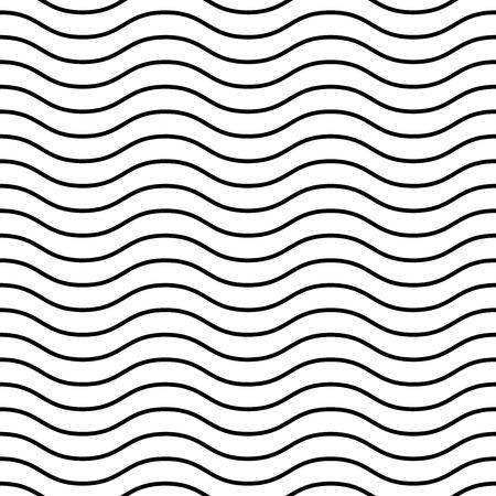 Geometrisch patroon. Naadloze vector achtergrond. Abstracte textuur voor achtergronden. Zwarte en witte kleuren Stockfoto - 35975669