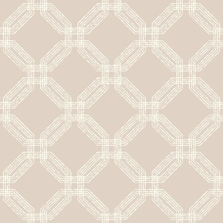Geometric pattern. Seamless vector pink background. Abstract texture for wallpapers Vector