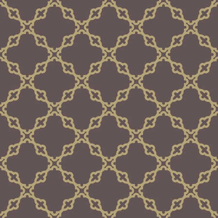 Geometric vector pattern with oriental elements. Seamless background. Abstract texture