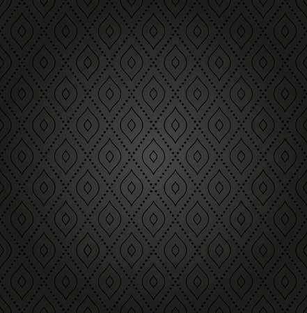 37558523 geometric fine abstract vector pattern seamless modern dark texture for wallpapers and background