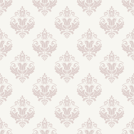 Oriental pattern with damask, arabesque and floral elements.