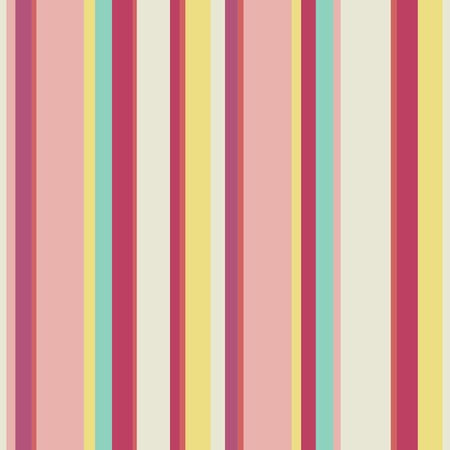 red pink: Abstract vector wallpaper with strips. Seamless colorful background with red, pink and yellow colors