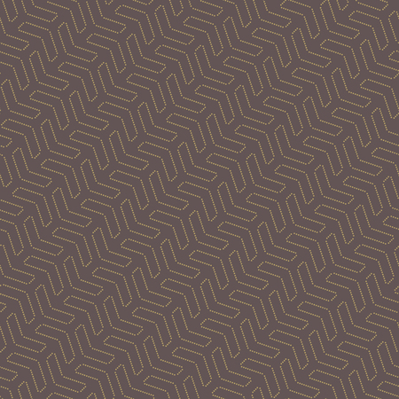 usual: Geometric vector pattern with triangles. Seamless abstract texture for wallpapers and background with yellow dots Illustration