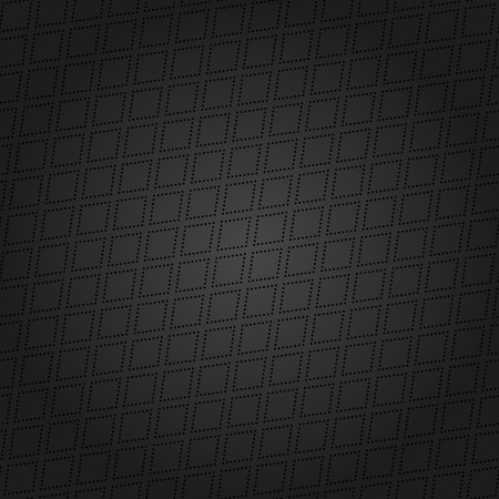 Geometric modern  seamless pattern. Abstract texture with diagonal black dotted elements photo