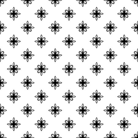 frilly: Floral  oriental pattern with arabesque and floral elements. Abstract wallpaper and background Stock Photo