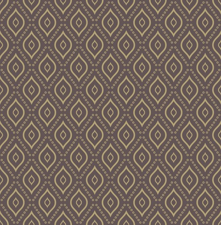 Geometric modern  seamless pattern. Abstract texture with golden dotted elements photo
