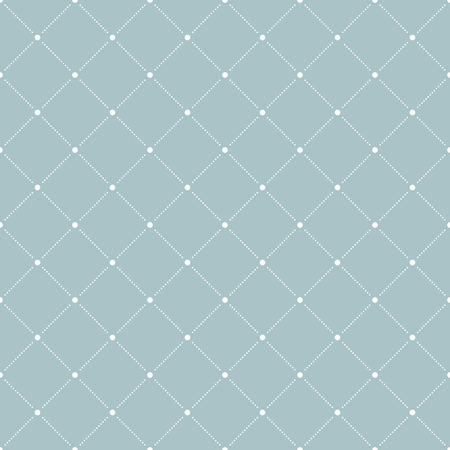 Geometric fine abstract vector pattern. Seamless modern texture for wallpapers and backgrounds. Blue and white colors Illustration