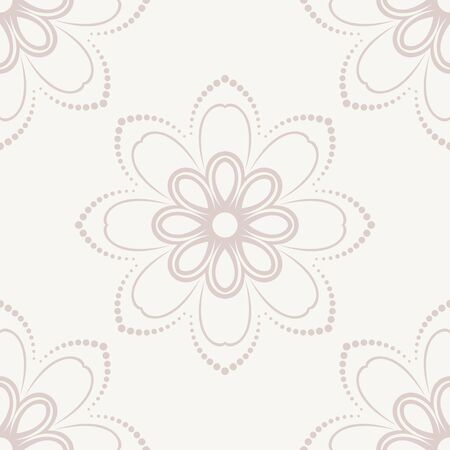 orient: Pattern in the style of baroque. Seamless  background. Damask texture with orient and floral pink elements