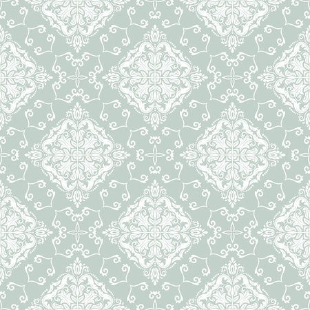 Geometric pattern. Seamless  background. Abstract texture for wallpapers. Blue and white colors photo
