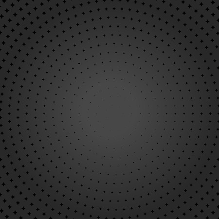 usual: Geometric modern vector pattern. Round texture with black dotted elements