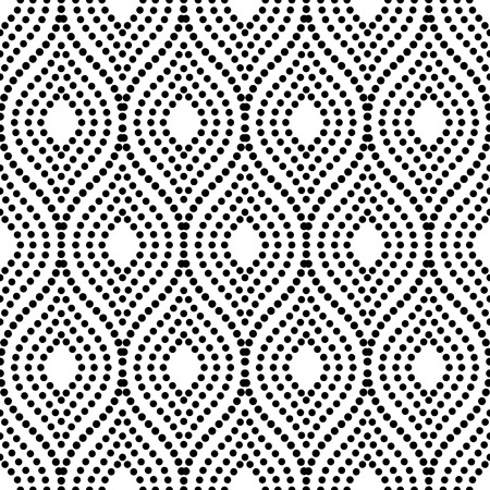 Geometric Ornament Seamless Vector Background Abstract Texture