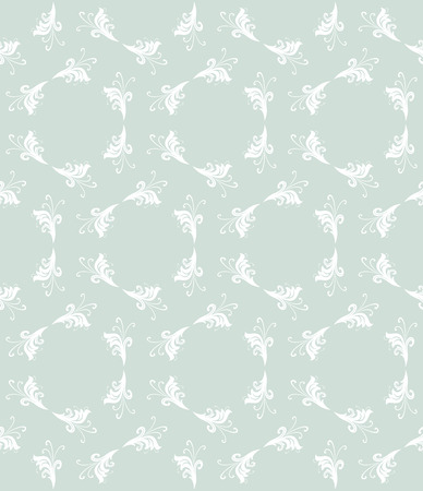 Geometric ornament. Seamless vector background. Abstract texture for wallpapers. Repeating geometric elements. Light blue and white pattern Vector