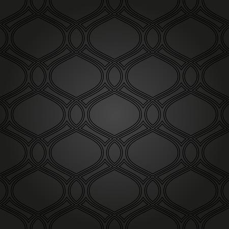 Motif Geometrique Noir Seamless Background Abstract Texture Pour