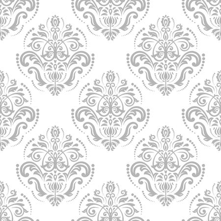 fine: Oriental fine classic silver pattern.  Illustration