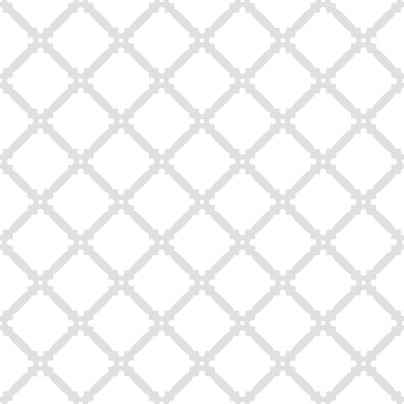Geometric fine abstract vector background. Seamless modern diagonal gray pattern
