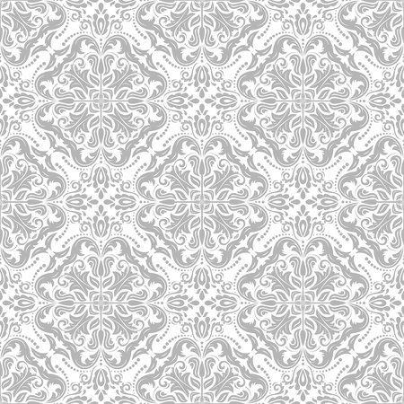 fine: Oriental vector fine classic bright pattern. Seamless abstract background
