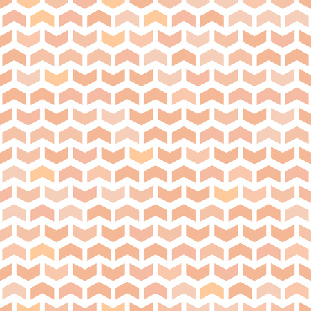 fine print: Geometric vector texture with orange triangular elements. Seamless abstract background