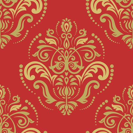 fine: Oriental  fine texture with damask
