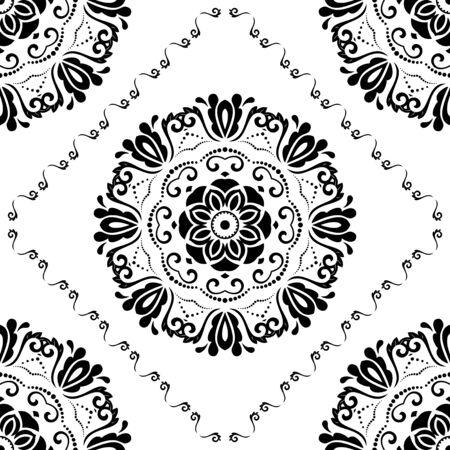 oriental vector: Oriental vector classic pattern.  Illustration