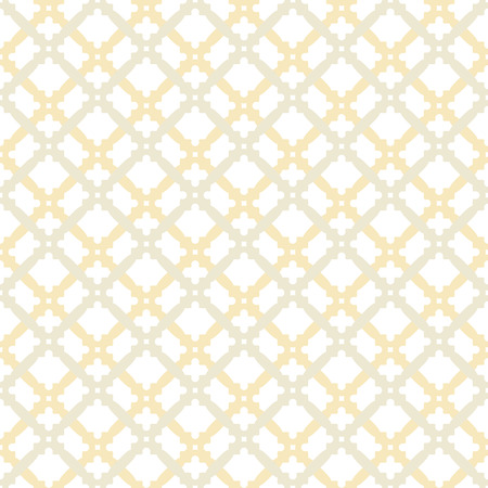 grid pattern: Geometric vector grid. Seamless fine abstract pattern with gray and golden shapes